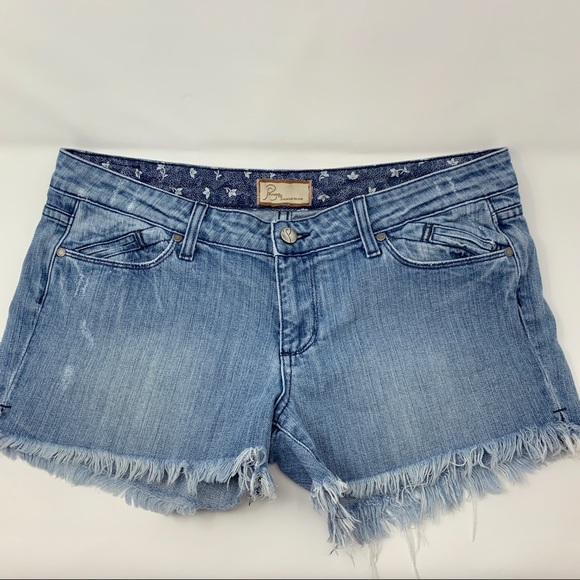 PAIGE Pants - Paige Women's Denim Jean Shorts Size 30